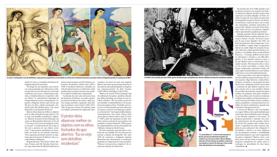 Matisse Parte II