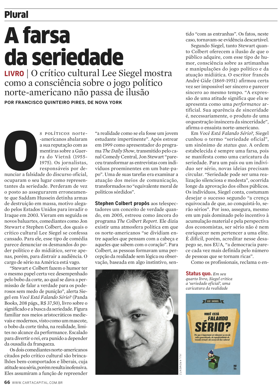 Seriedade E Fingimento Francisco Quinteiro Pires border=